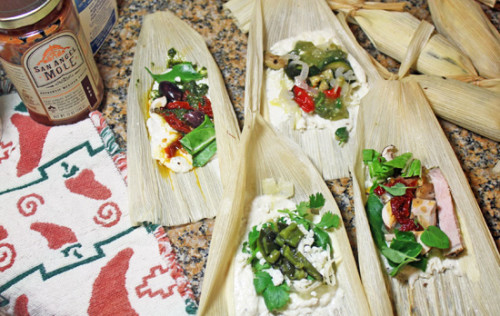 A Tamale Party – Fresh Food in a Flash Style!