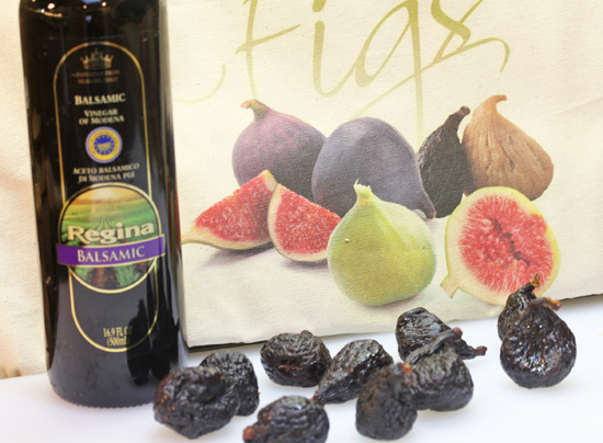 California dried figs...the beginning of a special drizzle to dress up your salmon dinner.