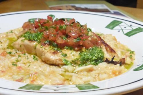 Salmon Bruschetta tops Olive Garden new menu.