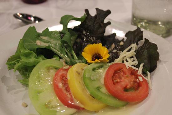 Salad from the Rancho La Puerta garden