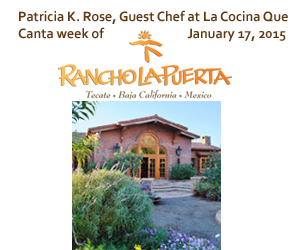 Guest Chef - week of January 17, 2015