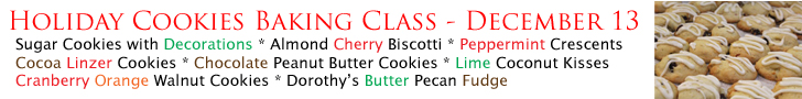 Holiday Cookie Class 12-13-14