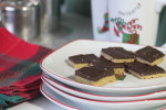 Chocolate Peanut Butter Bars Star in Holiday Cookie Class