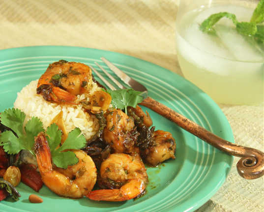 Shrimp with Ancho Chiles and Garlic from the Border Grill - Fresh Food ...