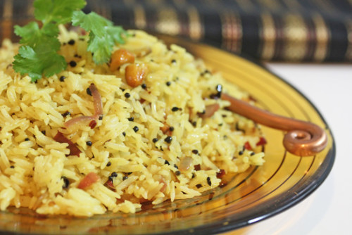 Lemon Rice + How to Cook Perfect Basmati Rice