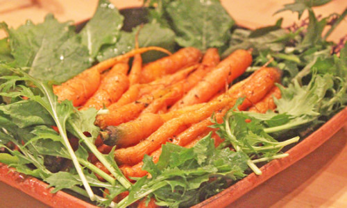 Garden-to-Table Roasted Carrots with Sage at Rancho La Puerta Spa