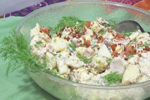 Bacon and Potato Salad