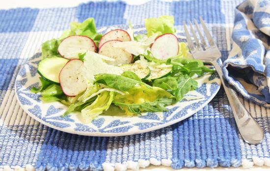 Bibb & Arugula Salad with Pecorino Romano