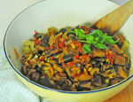 Italian Caponata recipe at FreshFoodinaFlash.com