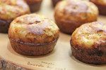 Scallion and Cheddar Popovers recipe at FreshFoodinaFlash.com