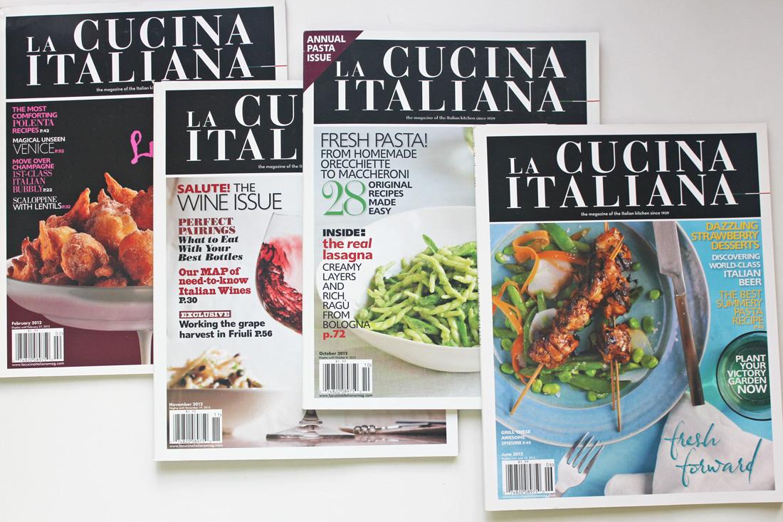 La Cucina Italiana Cooking Class – September 14, 2017