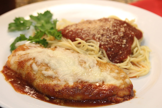 Chicken Parmesan Or Eggplant If You Wish Fresh Food In A Flash