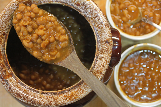 Boston Baked Beans in a Pressure Cooker or not