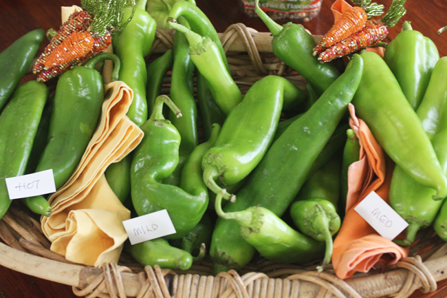What to make with all the Hatch Chiles