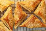 Joan Nathan's Spinach-Feta Burekas in Puff Pastry