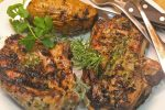 Grilled Lamb Chops with a Rosemary Marinade
