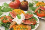 Tomato Garden Salad with Burrata Cheese