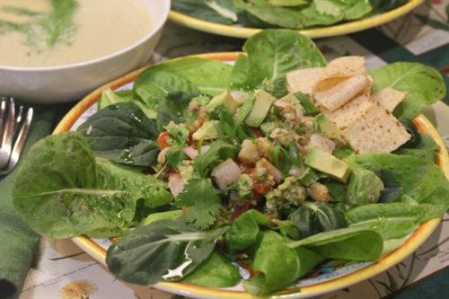 Yucatan Guacamole Salad