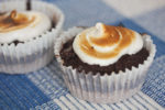 Summer S'mores Brownie Cupcakes